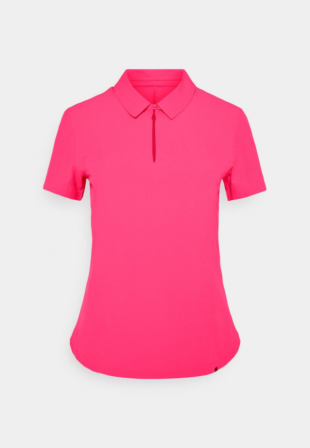 ACE - Polo - hyper pink/white