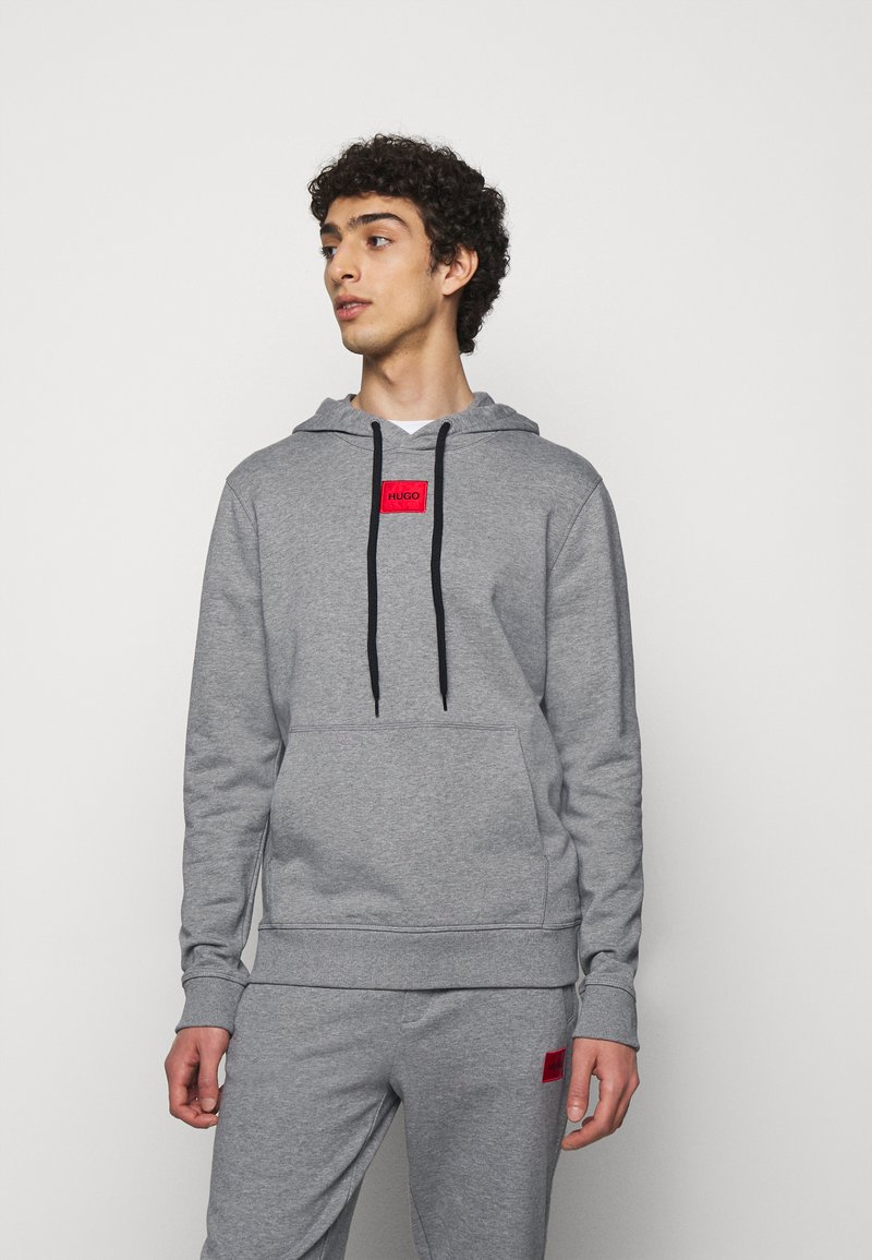 HUGO - DARATSCHI - Hoodie - medium grey