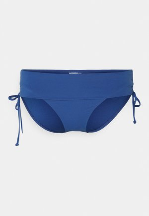 RUCHED SIDE HIPSTER - Bikini-Hose - marina blue