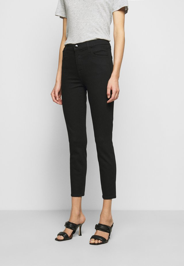 ALANA HIGH RISE CROP SKINNY - Jeansy Skinny Fit - vanity