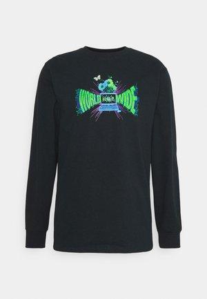 OFF-LINE TEE - Long sleeved top - black