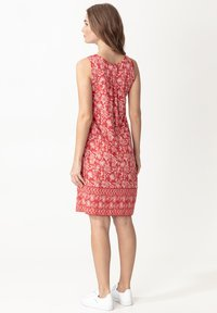 Indiska - DANYLYNN - Jersey dress - red - 2