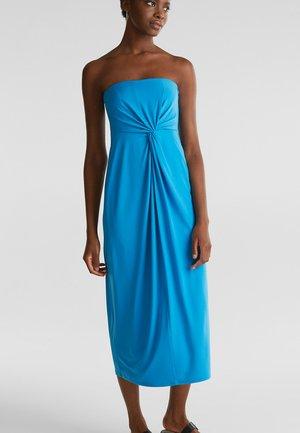 MIDI DRESS - Jersey dress - petrol blue