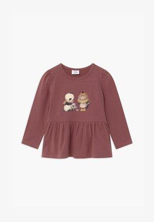 ANNE - Camiseta de manga larga - wild plum