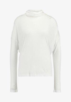 METTE ROLLNECK - Long sleeved top - snow white