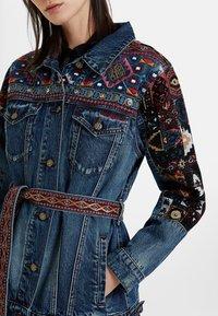 Desigual - ATHLAS PARK - Denim jacket - blue - 3