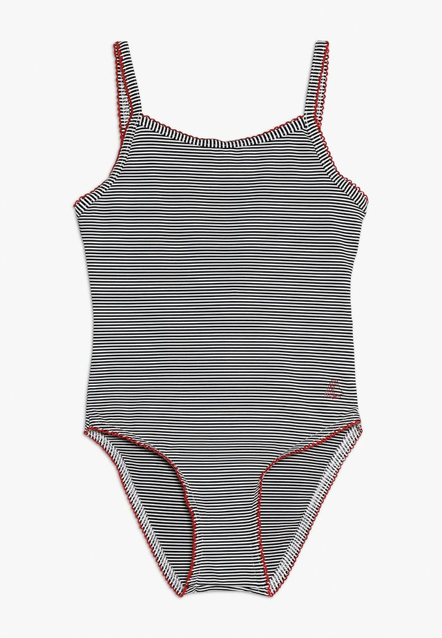 MAILLOT BAIN - Swimsuit - abysse/lait