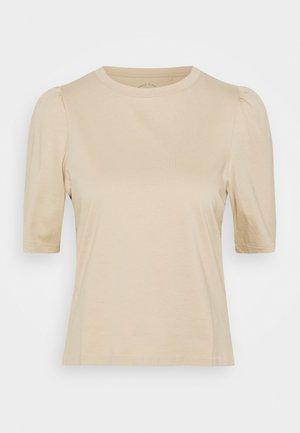 ONLNORA PASTEL LIFE TEE - T-shirts - humus