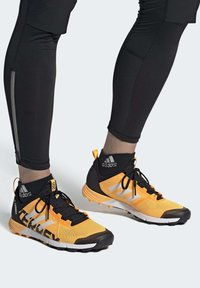 adidas Performance - TERREX SPEED TRAIL RUNNING SHOES - Obuwie do biegania Szlak - gold - 0