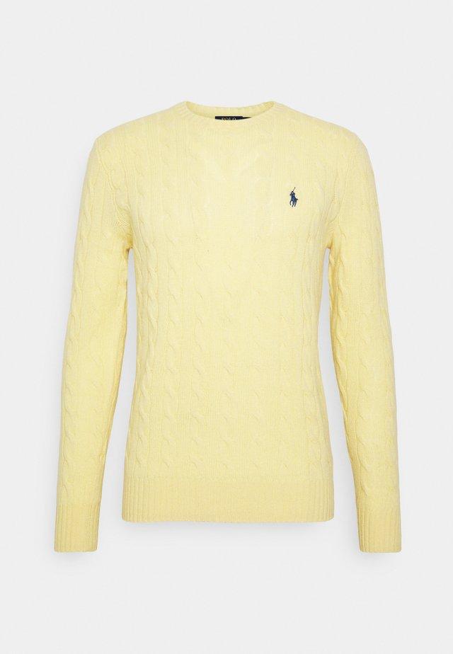 Pullover - empire yellow