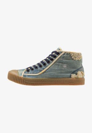 ROVULC 50 YEARS DENIM MID - Sneakers high - light aged
