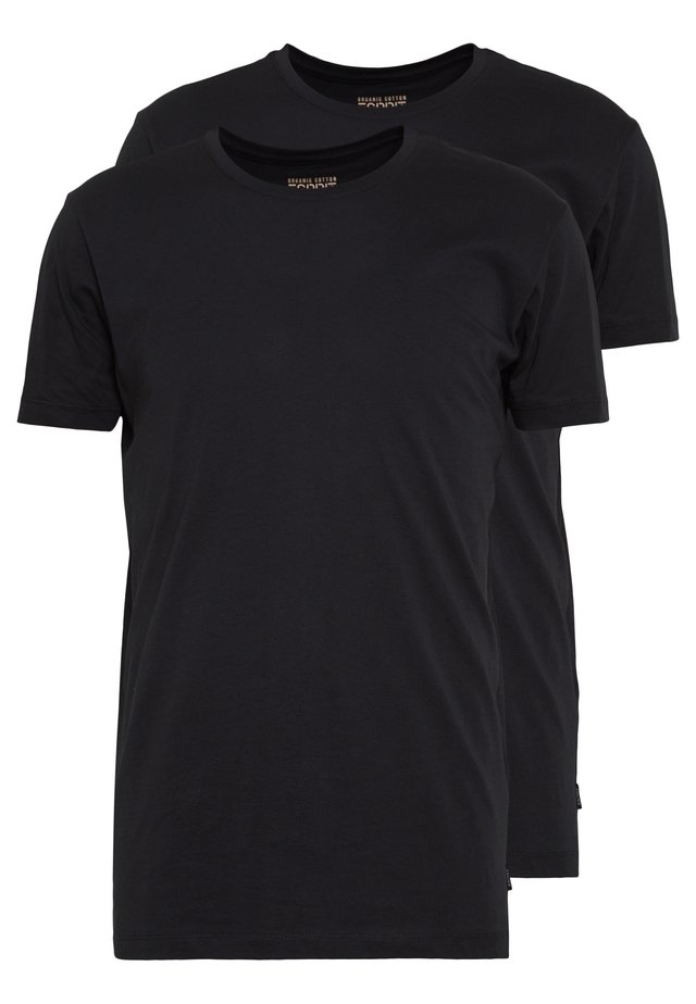 2 PACK - T-shirt basic - black