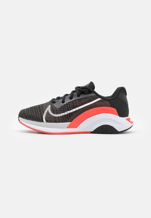 ZOOMX SUPERREP SURGE - Træningssko - black/white/bright crimson/pure platinum