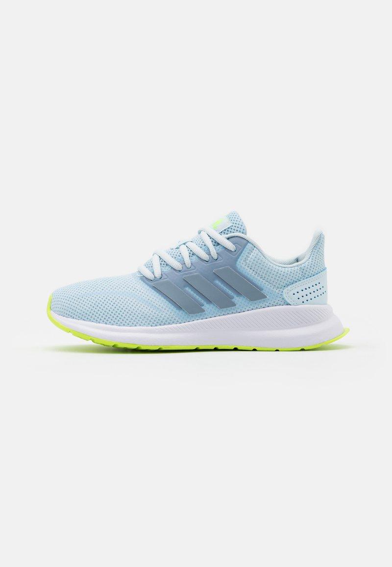 adidas Performance - RUNFALCON - Neutrale løbesko - sky tint/tactile blue/signal green