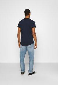 G-Star - LASH 2 PACK - Basic T-shirt - sartho blue - 3