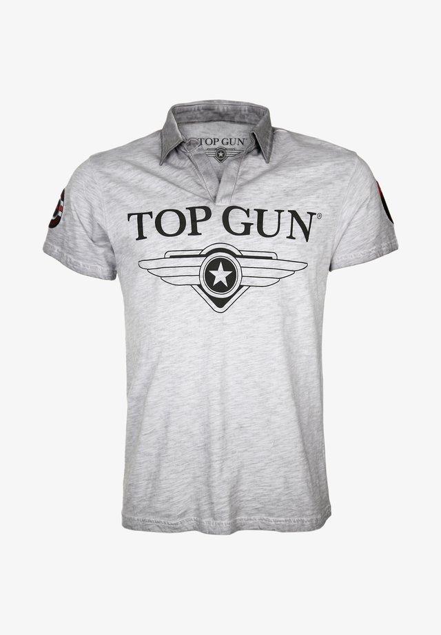 MODERN STAR - Polo shirt - grau