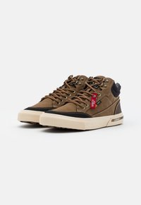 s.Oliver - High-top trainers - brown - 1