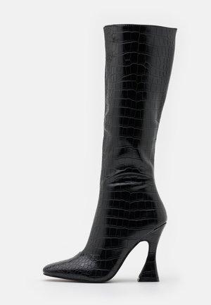 ANGELIQUE - High heeled boots - black