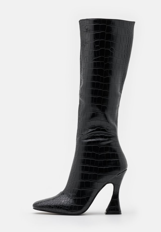ANGELIQUE - Laarzen met hoge hak - black