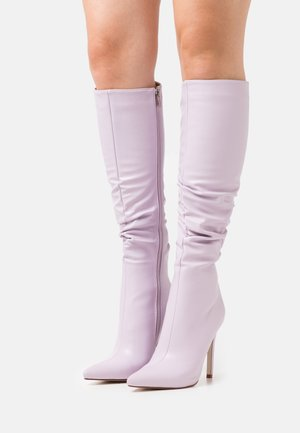 MICKIE - High heeled boots - lilac