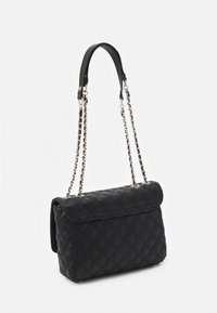 Guess - CESSILY CONVERTIBLE XBODY FLAP - Across body bag - black - 1