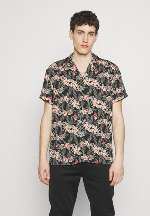BIJAN - Shirt - black/bunt