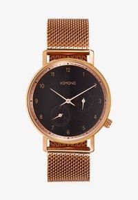 Komono - WALTHER - Klokke - rose gold-coloured - 1