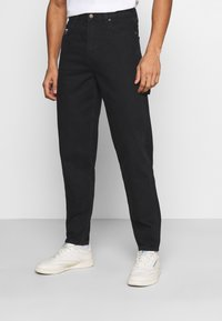 Karl Kani - RINSE PANTS - Relaxed fit jeans - black - 0