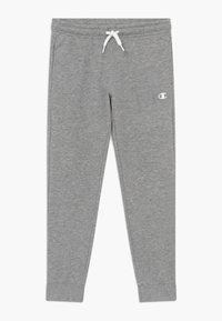 Champion - LEGACY BASICS CUFF PANTS - Pantalones deportivos - grey melange - 0