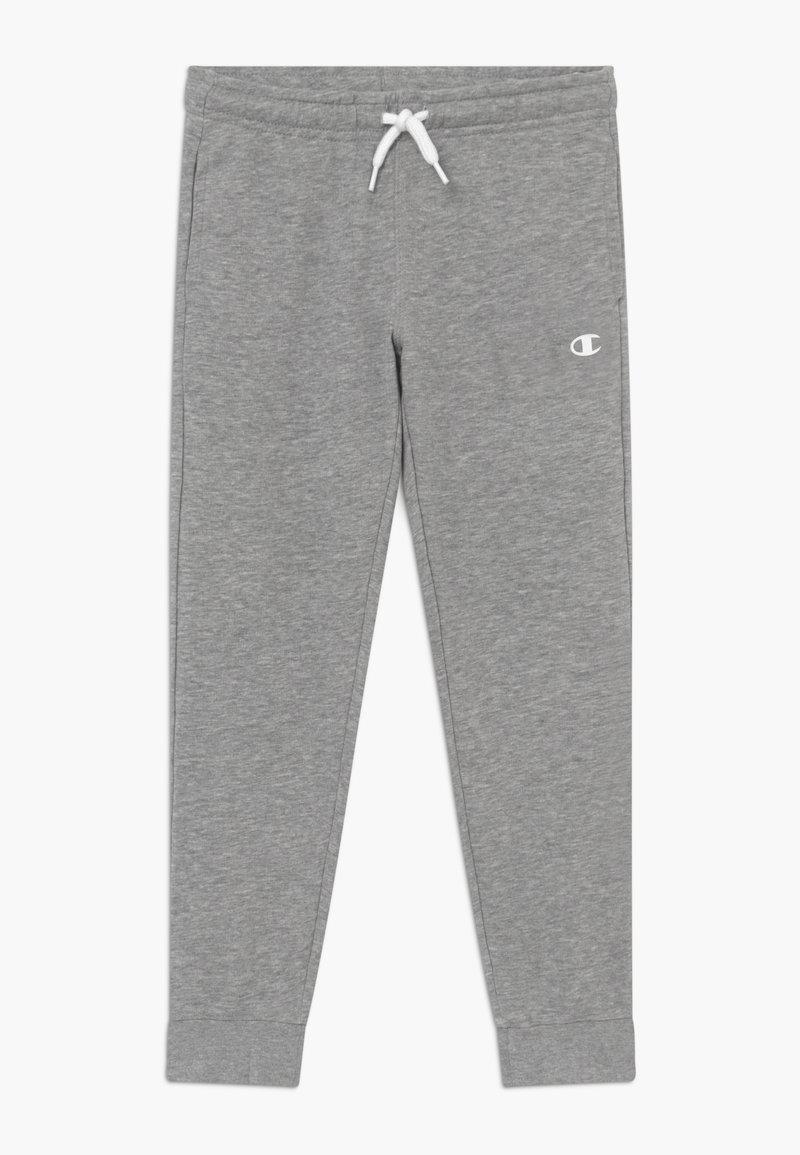 Champion - LEGACY BASICS CUFF PANTS - Pantalones deportivos - grey melange