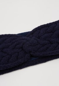 Lauren Ralph Lauren - BLEND CABLE HEADBAND - Ørevarmere - navy - 4