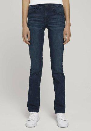 ALEXA - Straight leg jeans - rinsed blue denim