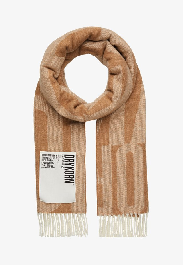 VIDE - Scarf - brown