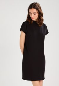Weekday - PRIME DRESS - Žerzejové šaty - black - 0