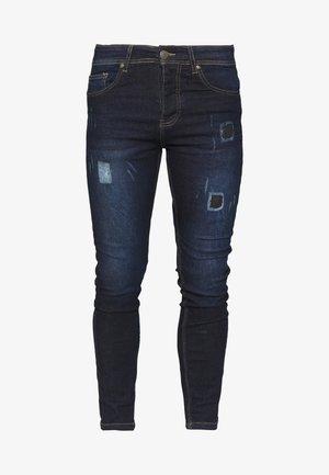 COVE - Skinny džíny - dark blue denim