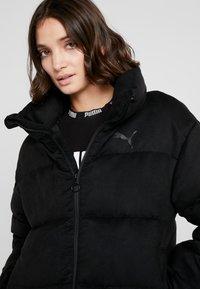 Puma - STYLE JACKET - Down jacket - puma black - 3