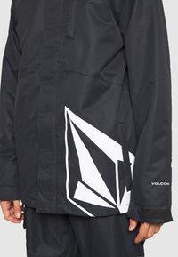 Volcom - 17FORTY INS JACKET - Snowboard jacket - black - 3