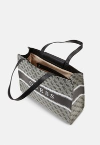 Guess - HANDBAG MONIQUE TOTE - Shopping bag - coal - 2