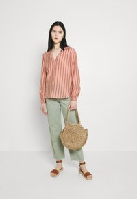 b.young - BXHAVI BLOUSE  - Long sleeved top - old rose mix - 1