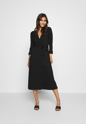 WRAP DRESS - Maxikjole - black