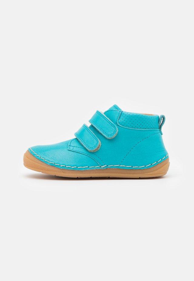 PAIX UNISEX - Sko med borrelås - turquoise