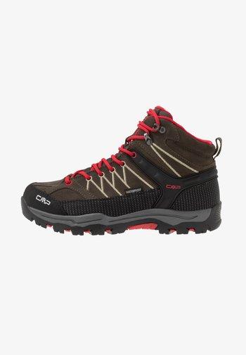 KIDS RIGEL MID SHOE WP UNISEX - Hiking shoes - tabacco