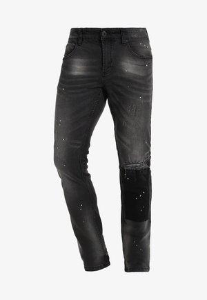 KALMAR - Jeans slim fit - black