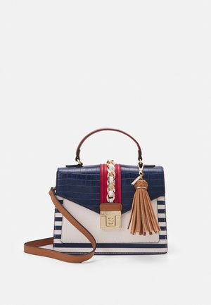 GLENDAA - Handtasche - nautical/gold-coloured