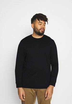 ESSENTIAL LONG SLEEVE - Long sleeved top - black