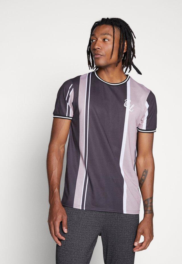 SIGNATURE - Print T-shirt - dark neutral