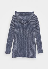 Abercrombie & Fitch - LONG - Kardigan - nighshadow blue marl - 1