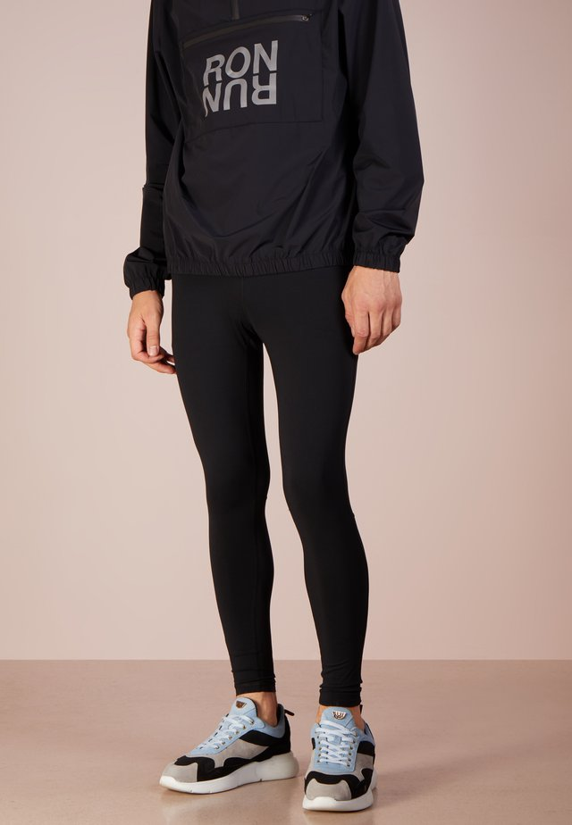 RON RUN - Pantalones deportivos - black