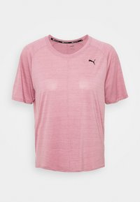 Puma - STUDIO RELAXED TEE - Camiseta de deporte - foxglove heather - 4