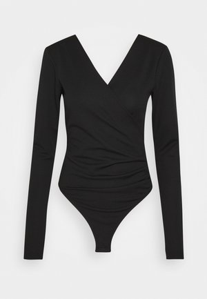 LONG SLEEVE - Long sleeved top - black